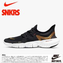 公式正規品!★RUNNING SHOES NIKE FREE RN 5. 0 BLACK WHITE