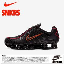 公式正規品!★NIKE SHOX TL - BLACK/RED/ORANGE