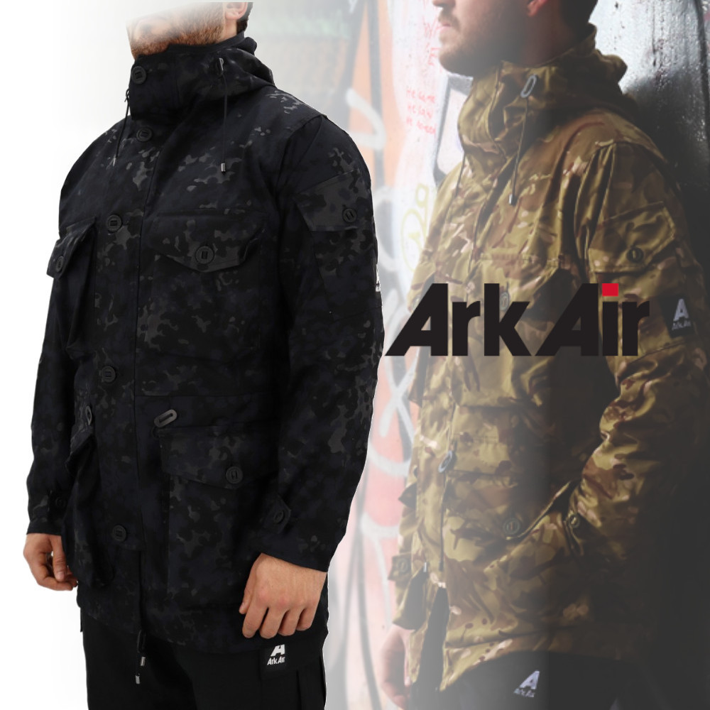 Ark Air*19AW*Unlined Smock Shadow Cam カモフラ ジャケット (アウターその他) 51626892