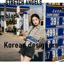 【STRETCH ANGELS】未入荷 PANINI mix pattern press bag 韓国