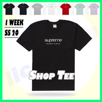 1 Week SS 20 Supreme Shop Tee