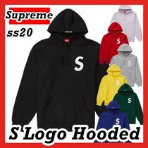 Supreme S Logo Hooded Sweatshirt SS 20 WEEK 1 S ロゴ フード
