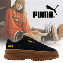 入手困難!! Wmns Puma Deva Randomevent 'Black Brown' 厚底