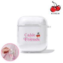 ★KIRSH正規品★CABLE FRIENDS AIRPODS CASE [追跡送料込]