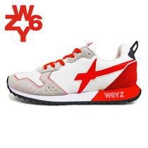 W6YZ(ウィズ) スニーカー 20SS W6YZ ウィズ  JET-M JM200  BIANCO-ROSSO WHTRED (01-40)