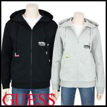 ☆Guess☆ フーディジップアップ 男女兼用