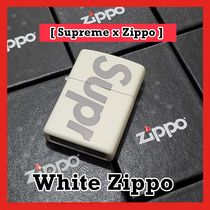 Supreme Glow-in-the-Dark White Zippo ジッポ SS 20 WEEK 1