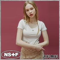 NASTYKICK(ネスティキック) Tシャツ・カットソー [NASTYFANCYCLUB] FANCY ROUND CROP TEE (WHITE)