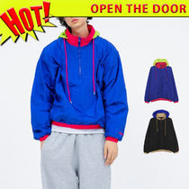 ☆OPEN THE DOOR☆ original cut pullover アノラック (2色)