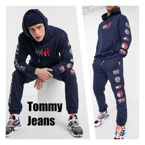 Tommy Jeans*ロゴパーカー&ジョガーセットアップ*Navy*送料込