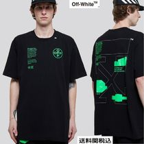Off-White オフホワイト TシャツARCH SHAPES S/S OVER T-SHIRT
