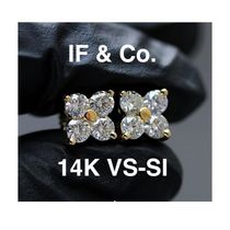 ◆海外限定◆ IF & CO. MICRO FORTUNA DIAMOND CLUSTER EARRINGS