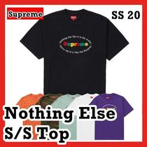 Supreme Nothing Else S/S Top ナシング エルス S/S トップ 2020