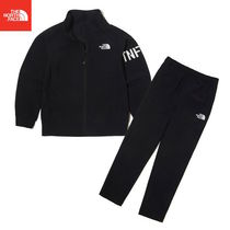 【THE NORTH FACE】K'S ALL TRAIN ZIP UP SET NJ5JL03V Black
