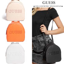 【GUESS】新作 CONVERTIBLE MINI BACKPACK 2WAY ミニリュック