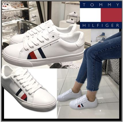 Tommy Hilfiger スニーカー ★TOMMY HILFIGER★Stripe Sneakers 正規品・安全発送・関税込