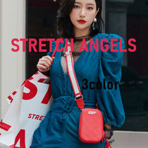 【STRETCH ANGELS】 Waffle handy bag ショルダー 韓国