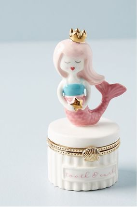 Anthropologie 小物入れ(トレイ) 人気☆【Anthropologie】Tooth Fairy Trinket Box 小物入れ(2)