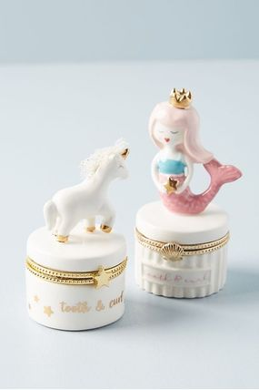 Anthropologie 小物入れ(トレイ) 人気☆【Anthropologie】Tooth Fairy Trinket Box 小物入れ(6)