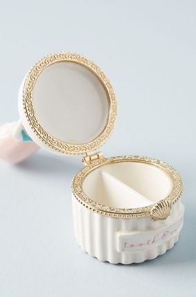 Anthropologie 小物入れ(トレイ) 人気☆【Anthropologie】Tooth Fairy Trinket Box 小物入れ(3)