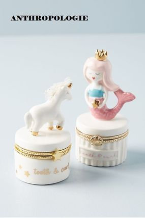 Anthropologie 小物入れ(トレイ) 人気☆【Anthropologie】Tooth Fairy Trinket Box 小物入れ