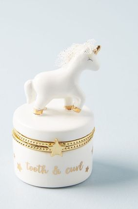 Anthropologie 小物入れ(トレイ) 人気☆【Anthropologie】Tooth Fairy Trinket Box 小物入れ(4)