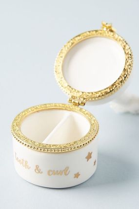 Anthropologie 小物入れ(トレイ) 人気☆【Anthropologie】Tooth Fairy Trinket Box 小物入れ(5)