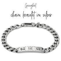 【GUCCI】GucciGhost chain bracelet in silver チェーンブレス