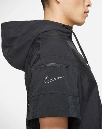 Nike セットアップ Nike ☆ SHORT-SLEEVE HALF-ZIP TRAINING フーディ&パンツ(12)