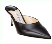 大特価*Jimmy Choo Rav 65 Liquid Leather Mule