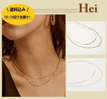 ★Hei★two lines chain necklace 2color /正規品・追跡有