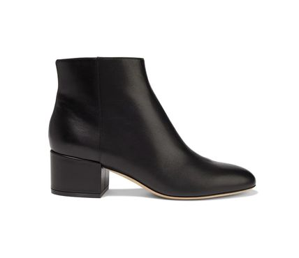 ★Sergio Rossi(セルジオロッシ)★Leather ankle boots