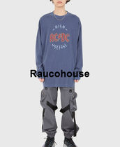 Raucohouse ACDC HIGH BALL DYEING LONG SLEEVE T