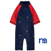 mothercare(マザーケア) 子供用水着・ビーチグッズ 日本未入荷☆mothercare☆18Mー10yrs☆NAVY&RED sunsafe