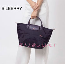 完売カラーBILBERRY645*Longchamp*LE PLIAGE CLUB*手提げM