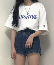 ACOVER(オコボ) Tシャツ・カットソー [ ACOVER ] Big Sensitive Logo T-Shirts (4 Color)