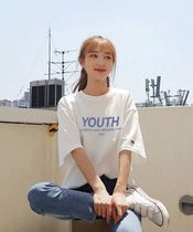 ACOVER(オコボ) Tシャツ・カットソー [ ACOVER ]Signature Youth T-Shirts(White, Navy,Light Purple)