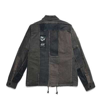 DIESEL ジャケットその他 D-COACINQUE5 <UP-CYCLING FOR 55DSL> / BLACK(2)