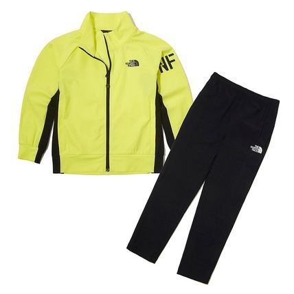 THE NORTH FACE キッズスポーツウェア ★人気★【THE NORTH FACE】★K'S ALL TRAIN ZIP UP SET★3色★(14)