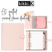 【kikki.K】A5 QUILTED PERSONAL PLANNER BLUSH: SELF