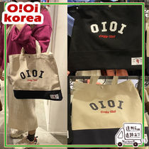 【oioi korea】TWO TONE CROSS ECO BAG