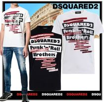 ★関税込★D SQUARED2★Punk'n'Roll Brothers T-Shirt