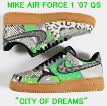 NIKE Air Force 1 '07 QS CITY OF DREAMS 送料関税追跡込み