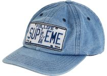 1 Week SS 20 Supreme License Plate 6-Panel