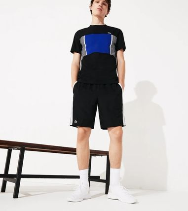 LACOSTE セットアップ 【Lacoste】 ワニプリントパーカー&ハーフパンツセットアップ(6)