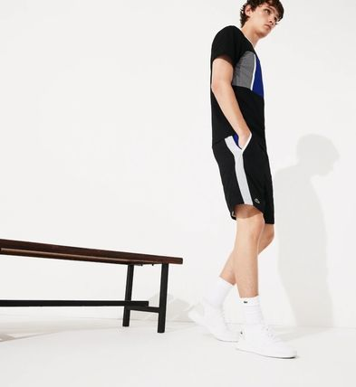 LACOSTE セットアップ 【Lacoste】 ワニプリントパーカー&ハーフパンツセットアップ(7)
