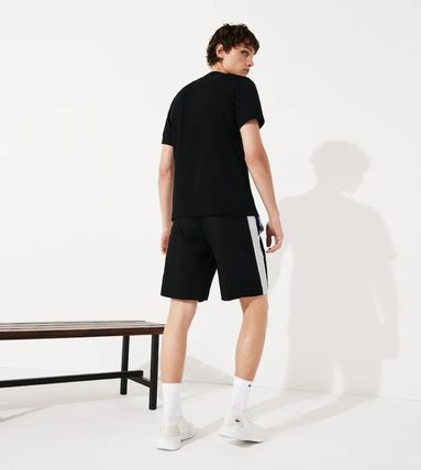 LACOSTE セットアップ 【Lacoste】 ワニプリントパーカー&ハーフパンツセットアップ(8)