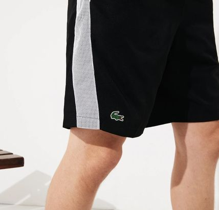 LACOSTE セットアップ 【Lacoste】 ワニプリントパーカー&ハーフパンツセットアップ(9)