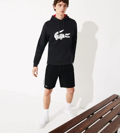 LACOSTE セットアップ 【Lacoste】 ワニプリントパーカー&ハーフパンツセットアップ(10)