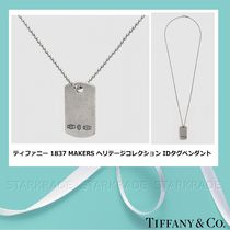 [Tiffany] 1837 Makers Heritage Collection IDタグペンダント